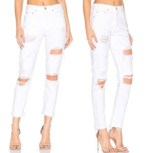 NEW GRLFRND Karolina Distressed Skinny Jeans 26